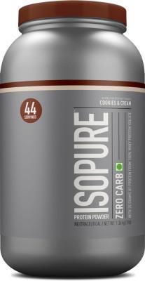 Isopure Zero Carb Whey Protein(1.36 kg, Cookies & Cream)