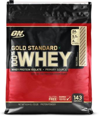 Optimum Nutrition Gold Standard 100% Whey Protein(4.54 kg, Rocky Road) at flipkart