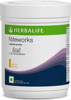 Herbalife Nutrition Niteworks L-Arginie Powder Protein Blends(300 g, Lemon Flavour)