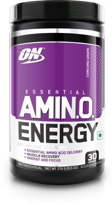 Optimum Nutrition Amino Energy (0.6lbs, Grape)