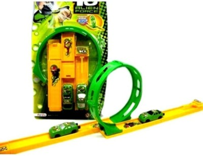 Ben 10 track set alien force for children easy to play