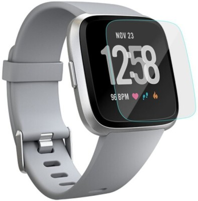 D & Y Edge To Edge Tempered Glass for Fitbit Versa(Pack of 1)