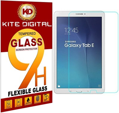 """KITE DIGITAL Tempered Glass Guard for SAMSUNG TAB E (SM-T560/T561) 9.6""""(Pack of 1)"""