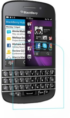 GS SMART Tempered Glass Guard for Blackberry Q10 {Flexible}(Pack of 1)