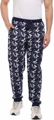 TRINITY JEANS COMPANY Camouflage Men Blue Track Pants
