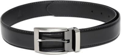 Hamilton Men Formal Black Artificial Leather Belt