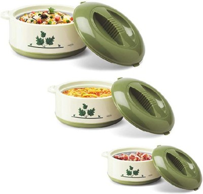 Milton Pack of 3 Thermoware Casserole Set 500 ml