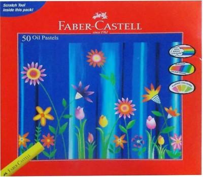 Faber-Castell 50 Oil Pastels(Set of 50, Multicolor)