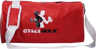 Dee Mannequin Red Gymaholic Gym Bag Red, Kit Bag Dee Mannequin Gym Bag