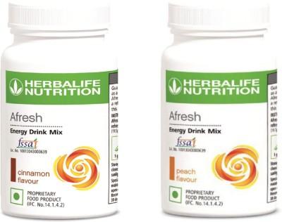 Herbalife Nutrition Combo Of Cinnamon & Peach Afresh Protein Blends(100 g, Peach, Cinnamon)