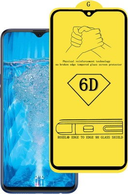 Roxel Edge To Edge Tempered Glass for OPPO F9 Pro (Twilight Blue, 64 GB) (6 GB RAM)(Pack of 1)