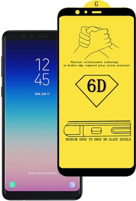 Roxel Edge To Edge Tempered Glass for Samsung Galaxy A8 Star (Black, 64 GB) (6 GB RAM)(Pack of 1)