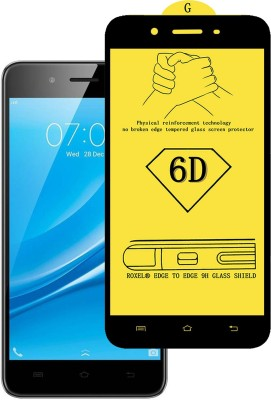 CRodible Edge To Edge Tempered Glass for Vivo Y55L (Grey, 16 GB) (2 GB RAM)(Pack of 1)