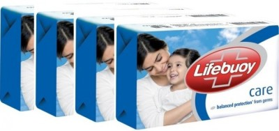 Lifebuoy new Care (125 gm x 4)(500 g)