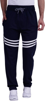 TRINITY JEANS COMPANY Solid Men Blue Track Pants
