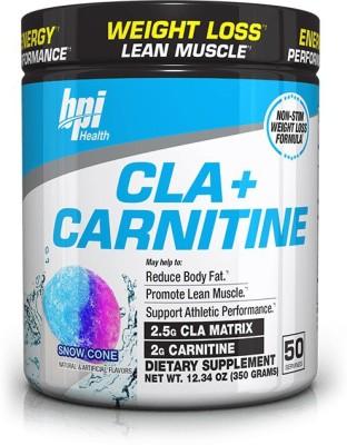 BPI Sports cla + carnitine, 50 serving(350 g)