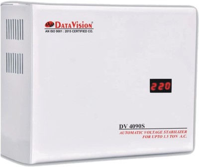 Harmony Triple Booster (Digital Display) 4KVA for Air Conditioner upto 1.5 Ton Voltage Stabilizer(Off White)