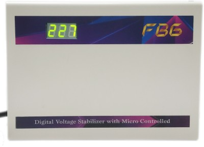 FBG 400 DIGITAL   1.5 Ton Inverter AC Stabilizer Voltage Stabilizer White FBG Voltage Stabilizers