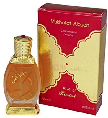 Rasasi Mukhallat Al Oudh Fragrance Pure Attar For Mens And Womens Floral Attar(Floral)