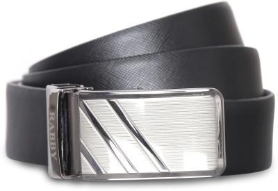rabby Men Formal, Casual Brown, Black Genuine Leather Reversible Belt