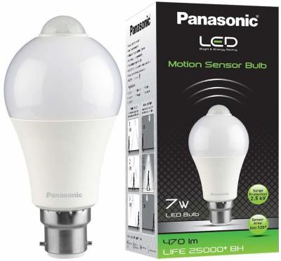 Panasonic 7 W Round B22 LED Bulb White Panasonic Bulbs