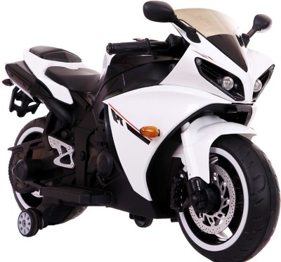 Baybee Bike Battery Operated Ride On(White) at flipkart