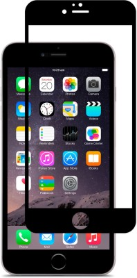 Buynow Edge To Edge Tempered Glass for 6D Glass, Black), Apple iPhone 6G Plus (9H Full Glue(Pack of 1)