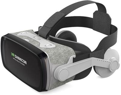 Shinecon Virtual Reality Headset, New Version 9.0 VR Headset(Smart Glasses, Textured Black)