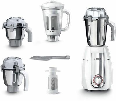 BOSCH TrueMixx Premium Plus 4 jar Premium Plus 4 jar 750 Mixer Grinder (4 Jars, White)