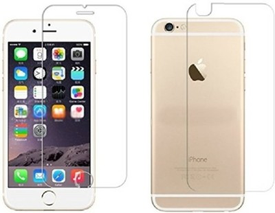 MOBIVIILE Front and Back Screen Guard for Apple iPhone 6, Apple iPhone 6s(Pack of 4)