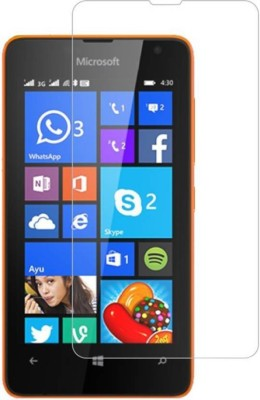 SVENMAR Tempered Glass Guard for Nokia Lumia 430(Pack of 1)