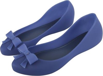 IRSOE Cassiey Latest Collection, Comfortable & Fashionable Casual/ Formal Bellies for Women's and Girl's Ballet Flats/Ballerinas Bellies For Women(Blue)
