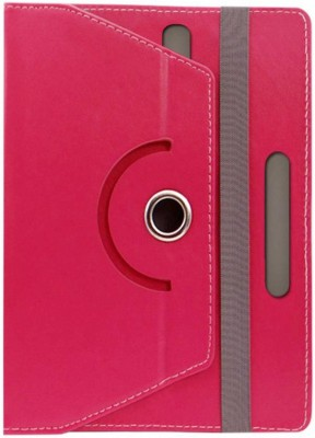 Fastway Book Cover for Penta Bsnl 83Aaq1 Dual Sim(8 Inch, 8Gb, Wi-Fi+ 3G)(Pink, Cases with Holder)