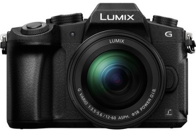 Panasonic Lumix G85M Mirrorless Camera Body with 12 - 60 mm Lens(Black)