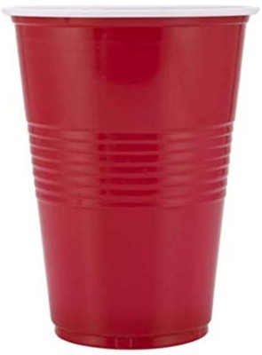 Smartcraft 12664 Glass Set(Plastic, 500 ml, Red, Pack of 50)
