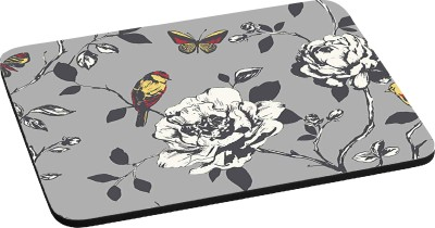 RADANYA Floral Bird Nature RDPD-01-61 Mousepad(Grey)