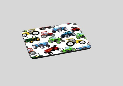 RADANYA Tractor RDPD-01-45 Mousepad(White)