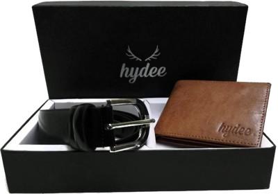 hydee Wallet, Belt Combo(Brown, Black)