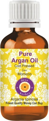 DèVe Herbes Pure Argan Oil 50ml (Argania Spinosa) 100% Natural Cold Pressed(50 ml)