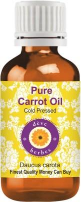 Deve Herbes Pure Carrot Oil - Daucus Carota(30 ml)