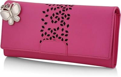 Butterflies Casual Pink  Clutch at flipkart