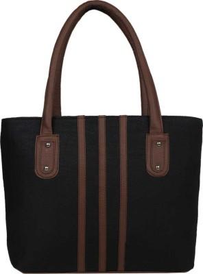 Avni's Women Black Shoulder Bag