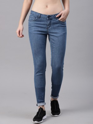 HRX by Hrithik Roshan Regular Women Blue Jeans at flipkart