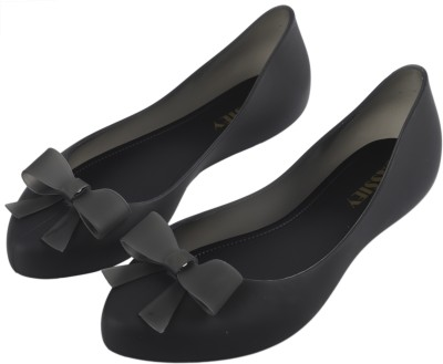IRSOE Cassiey Latest Collection, Comfortable & Fashionable Casual/ Formal Bellies for Women's and Girl's Ballet Flats/Ballerinas Bellies For Women(Black)