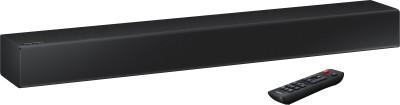 Samsung N300 (With Built-in Woofer) 40 W Bluetooth Soundbar(Black, 2.0 Channel)