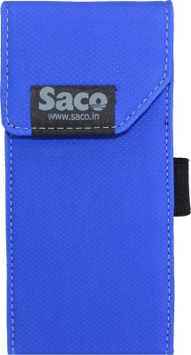 Saco Shock Proof Pouch Case Wallet Cover Protector Pouch for Mi 10000mAH Li-Polymer Power Bank 2i Model PLM06ZM(Blue)