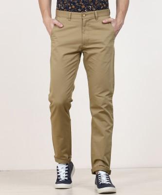 Numero Uno Slim Fit Men Grey Trousers