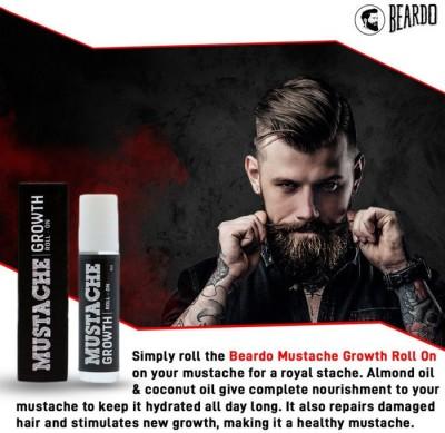 Beardo Moustache Growth Roll On  8 ml