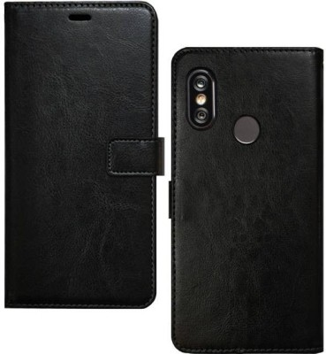 Spicesun Flip Cover for Mi Redmi Y2(Black)