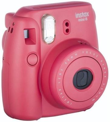 Fujifilm Instax Mini 8 Party box Raspberry Instant Camera